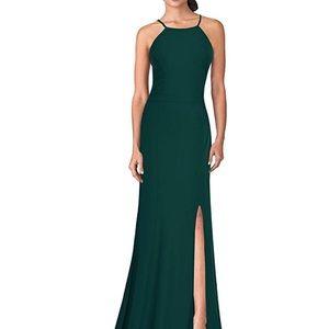 Evening long dress - GREEN